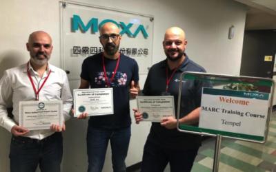Certificación Oficial Centro Reparador Moxa
